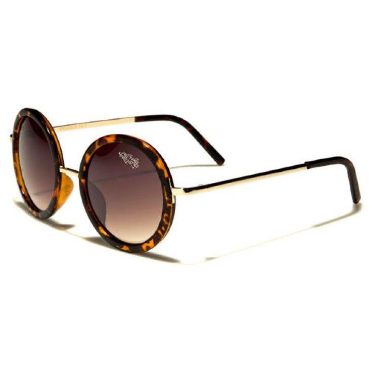 f4aa8d9d1f Retro Rewind Unisex Vintage Round Sunglasses Tortoise with Brown Lenses