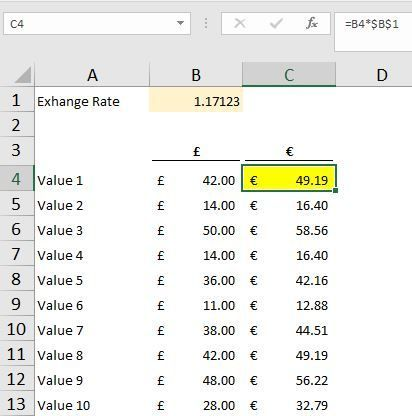 Absolute Cell Reference Excel Pinterest Microsoft excel