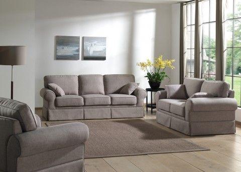 Salon Complet Salvadore En Tissu Canape 3 Places Et Canape 2 Places With Images Sofa Furniture Home Decor