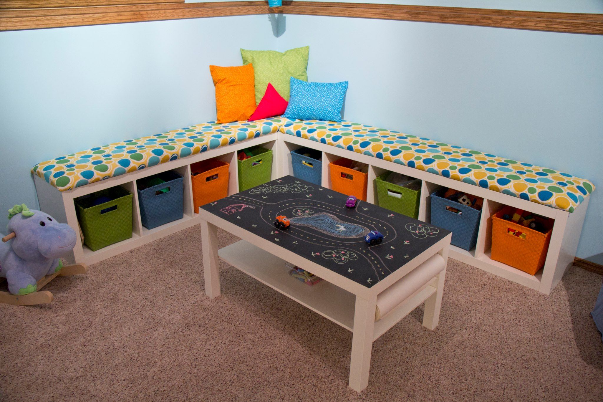 Loft bed with desk jordan's furniture  Benches  Interior Design  Pinterest  Bench seat and Playrooms