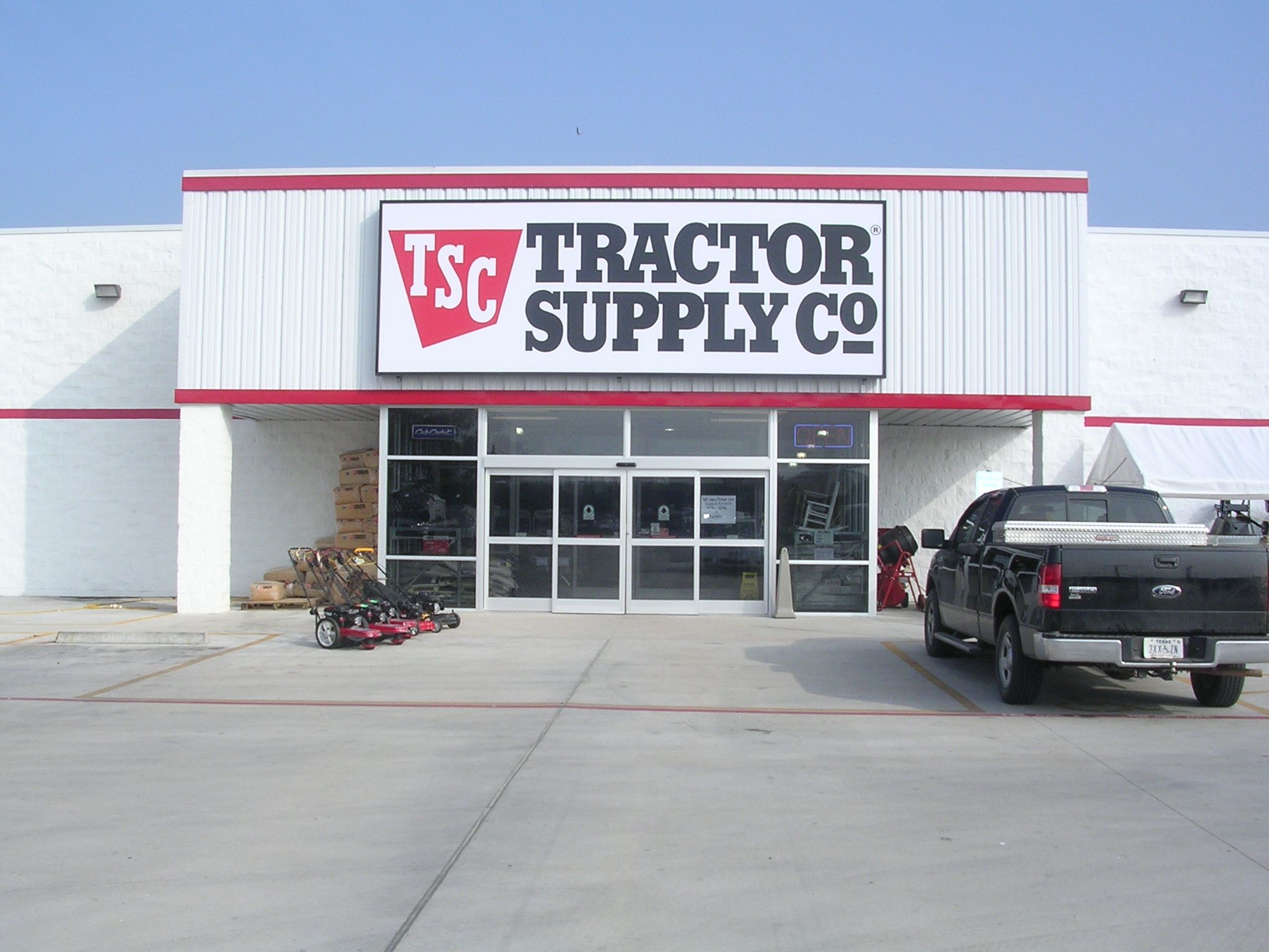 Tractor Supply Company. Don't ask me why, but I love this store ...