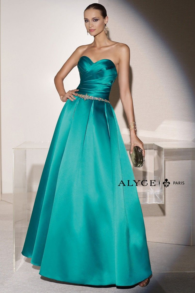 Black Label Dress Style #5652 Front View | Spring 2015 | Alyce Black ...