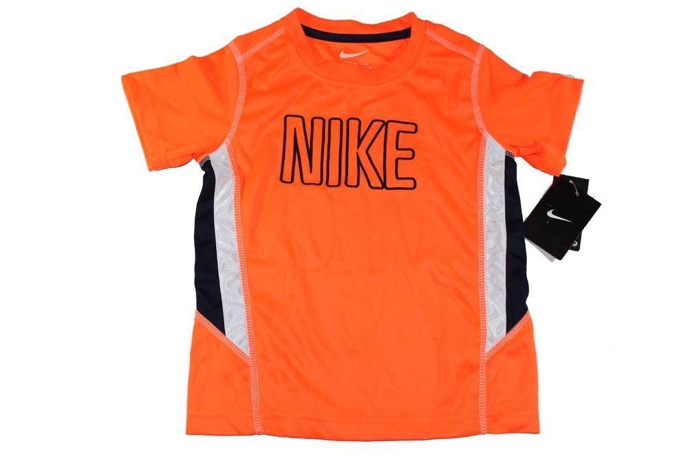 Nike toddler unisex drifit performance athletic tee t