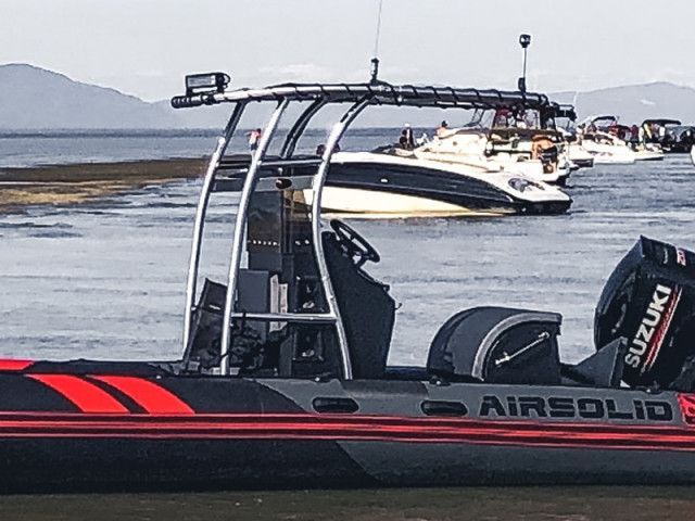 Airsolid Rib With Sg300 T Top Review Rib Boat Boat Center