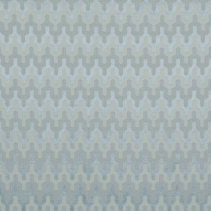 Tecido de jacquard geométrico azul - tecdec.com.br