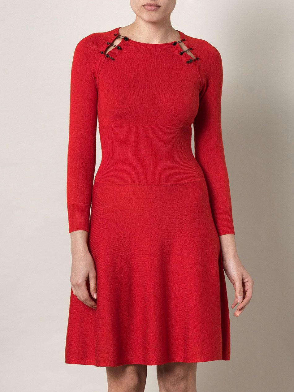 safety pin knitted dress   Dresses, Shopping outfit ...
