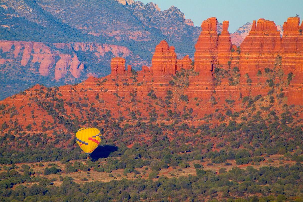 Balloon trip in grand canyon Hot air balloon rides
