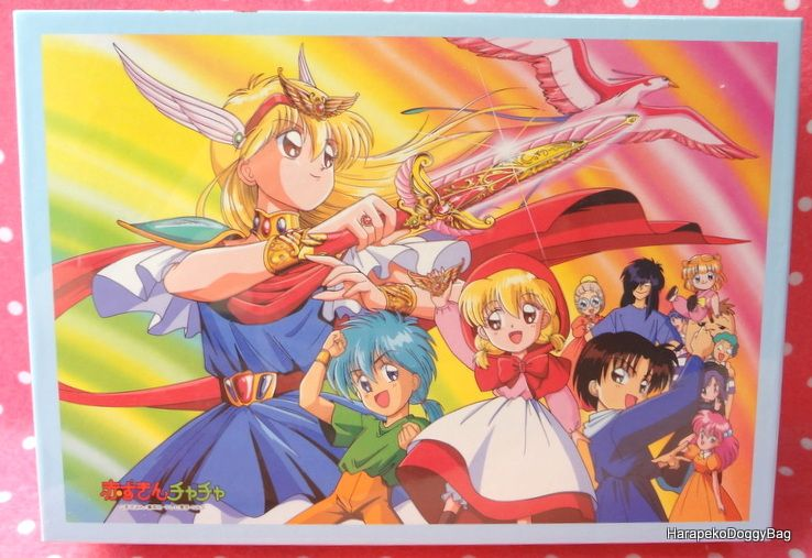 A jigsaw puzzle for the japanese shojo manga anime