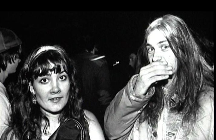 Kurt and his ex-girlfriend Tracy Marander