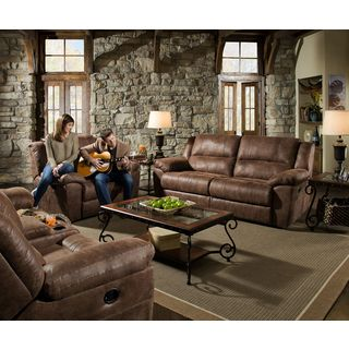 Astounding Simmons Upholstery Topgun Saddle Sofa Overstock Com Lamtechconsult Wood Chair Design Ideas Lamtechconsultcom