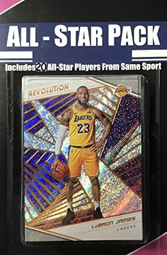 0070d501d90c 2018 2019 Panini Revolution Series NBA All Stars Special Edition Factory  Sealed 20 Card Set with
