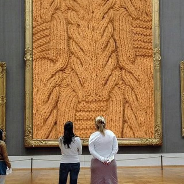 Yeah .. Yarn art