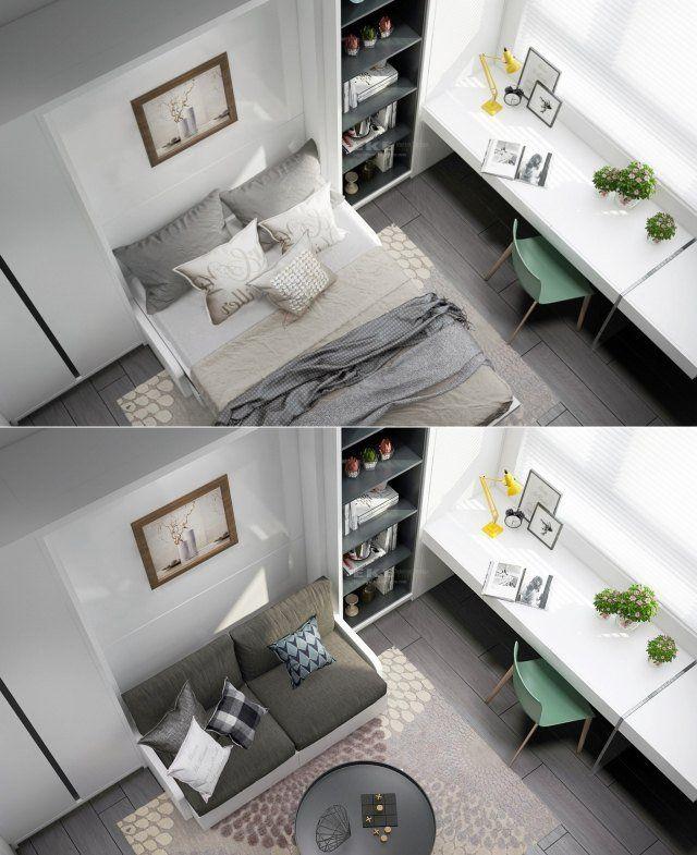 Chambre adulte design – 25 conceptions cool et modernes | Literie ...