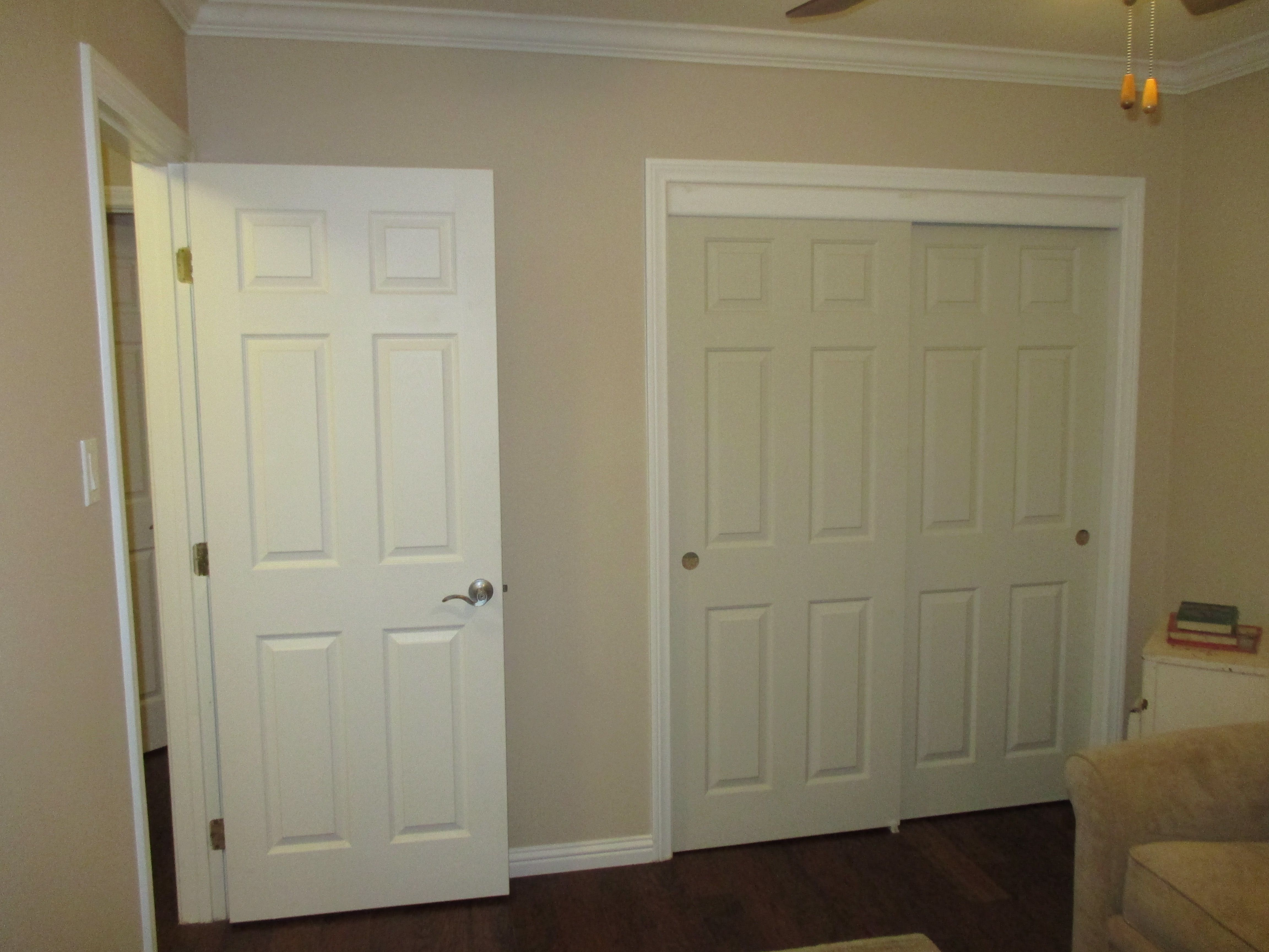 Bypass Closet Doors Or Sliding Closet Doors Are Available In So Many Options Such As The 2 Panel 2 Track Mirro Closet Doors Sliding Panels Sliding Closet Doors