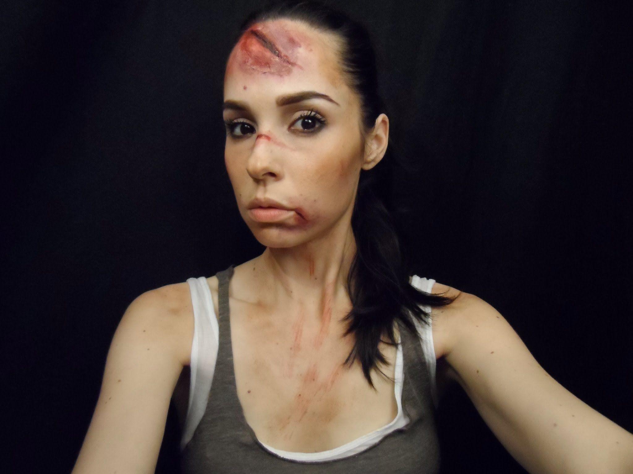 Wounded Lara Croft Cosplay makeup tips | Lara croft ...
