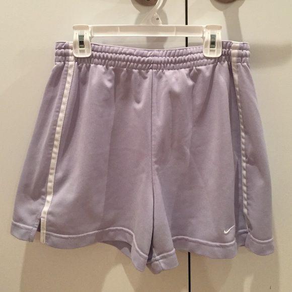 Lavender Nike Shorts Gently worn lavender Nike shorts Nike Shorts