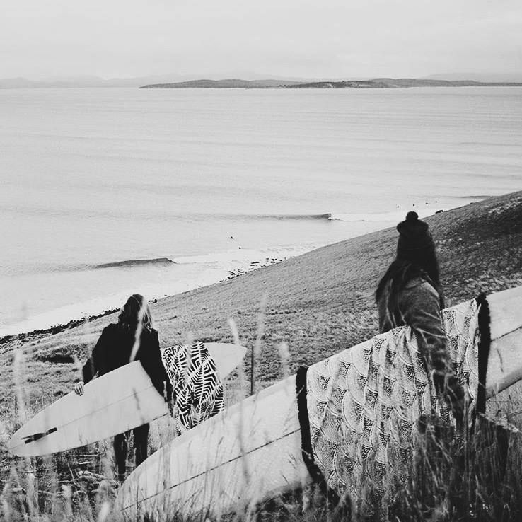 Early morning scout for waves // via @missarahglover