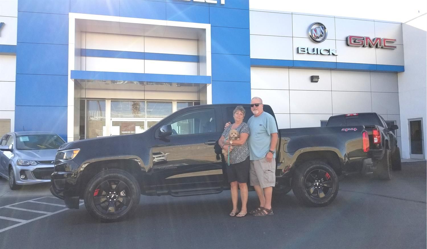 Brian And Deborah Congratulations On Your New 2018 Chevrolet Colorado Thank You Again For The Opportunity To Earn Your Chevrolet Colorado Buick Gmc