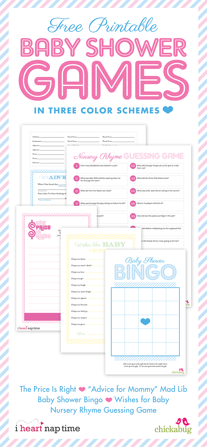 Gratifying image pertaining to 75 printable baby shower games with answers