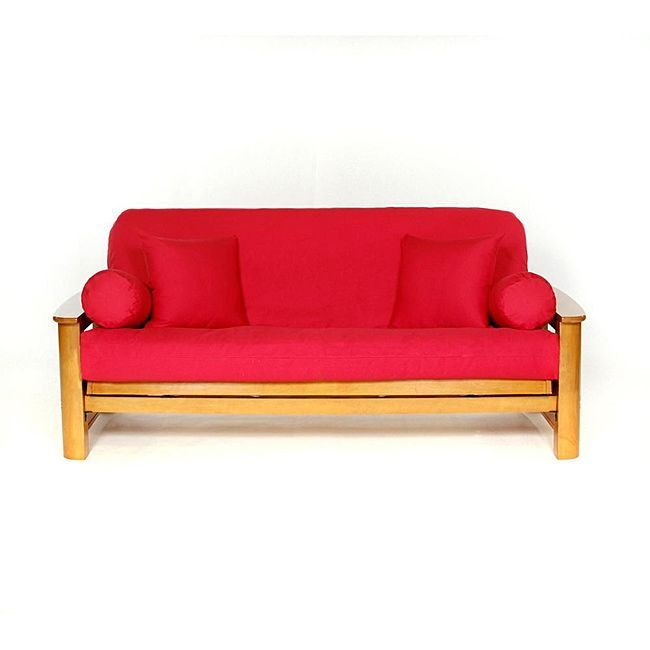 Red Full Size Futon Cover Ping The Best Prices On Covers