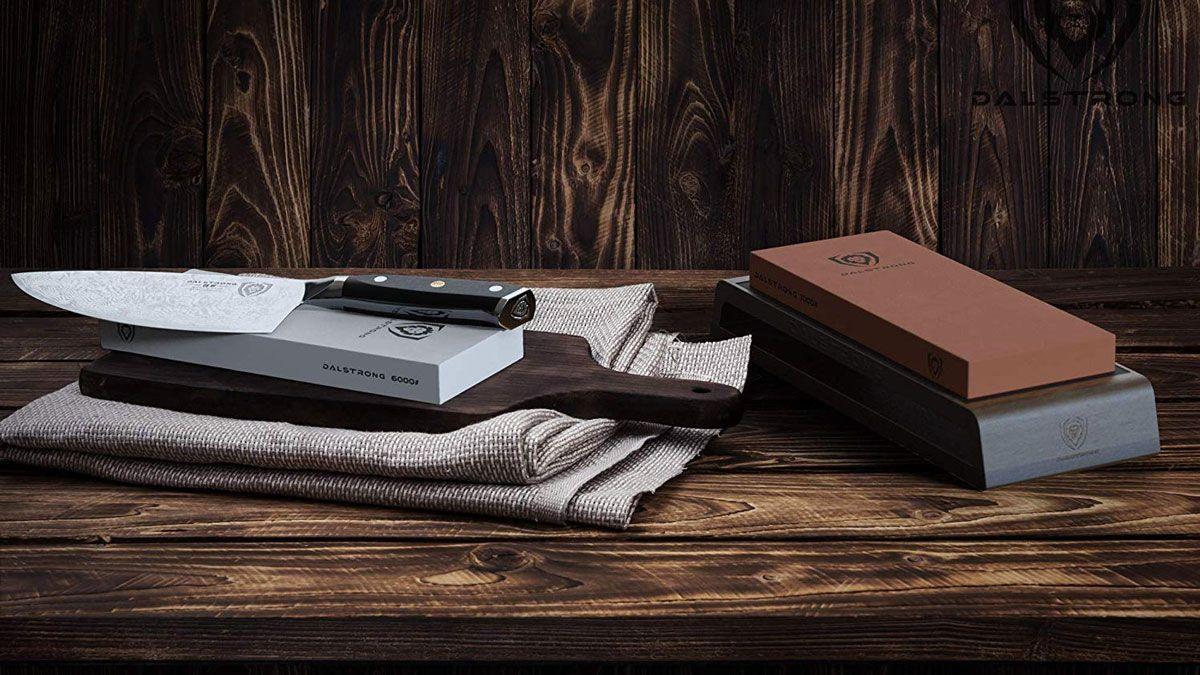 Dalstrong whetstone knife sharpening kit in 2020 knife