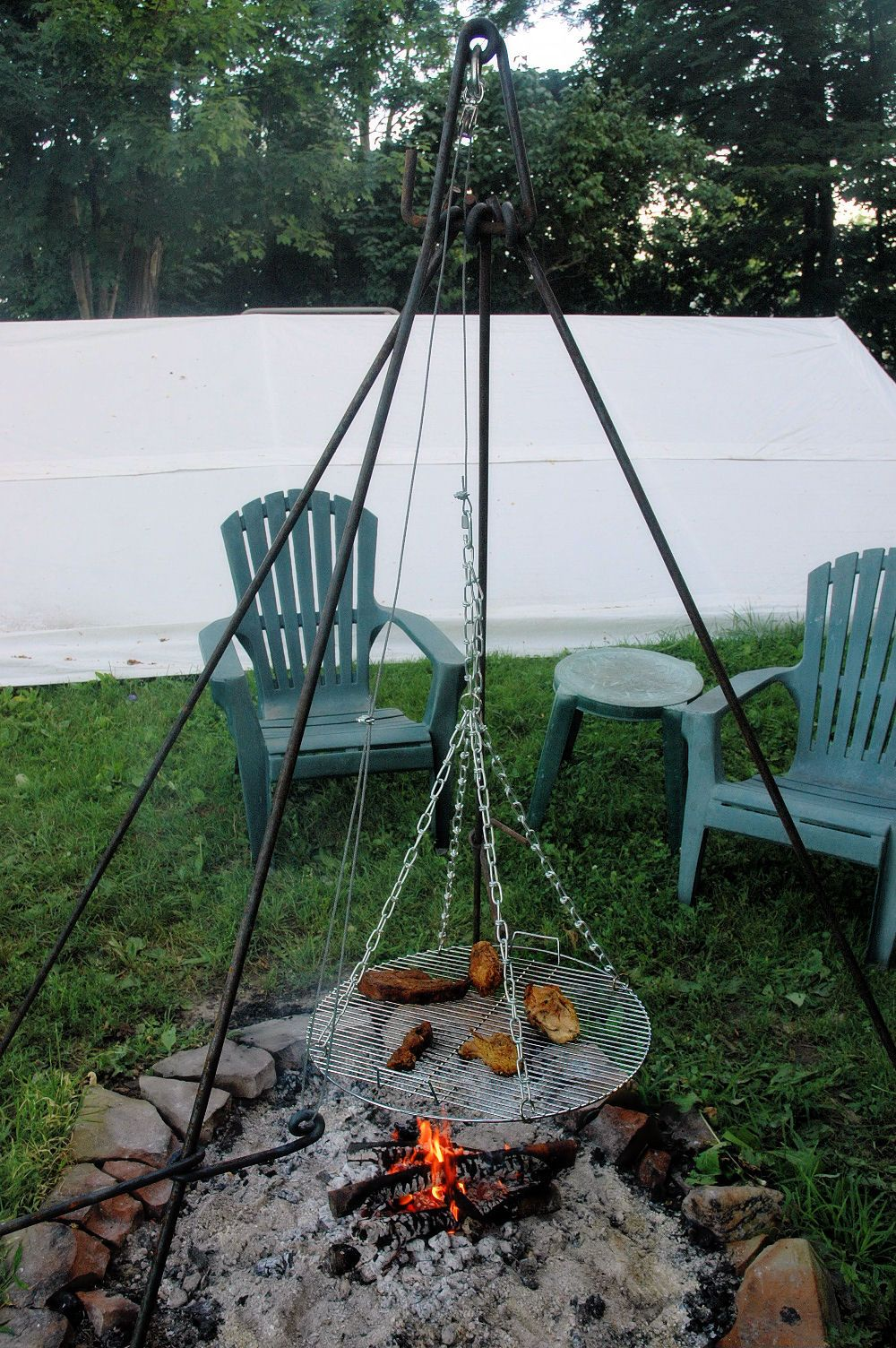 Fire pit cooking | Gardening ideas | Fire pit cooking ...