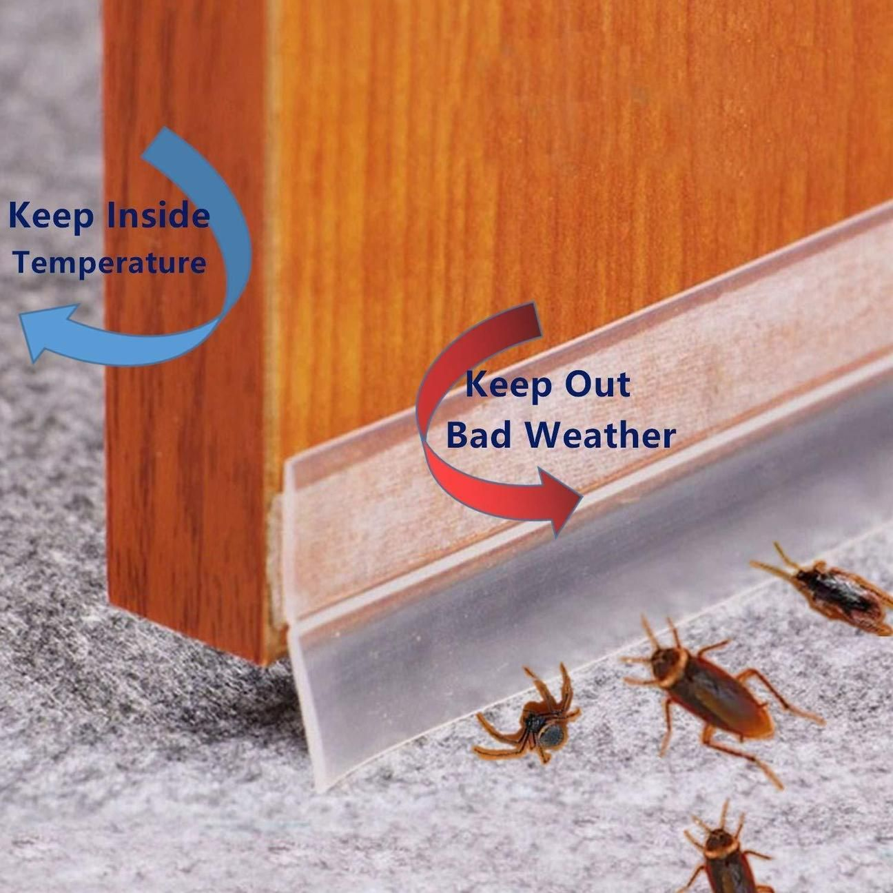 Weather Stripping Door Seal Strip Limited Time Promotion 50 Off In 2020 Door Seals Diy Home Repair Home Repair