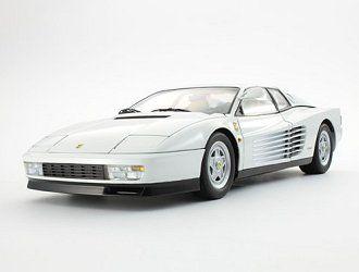 Ferrari Testarossa Diecast Model Car By Kyosho 08424w Diecast Model Cars Diecast Models Car Model