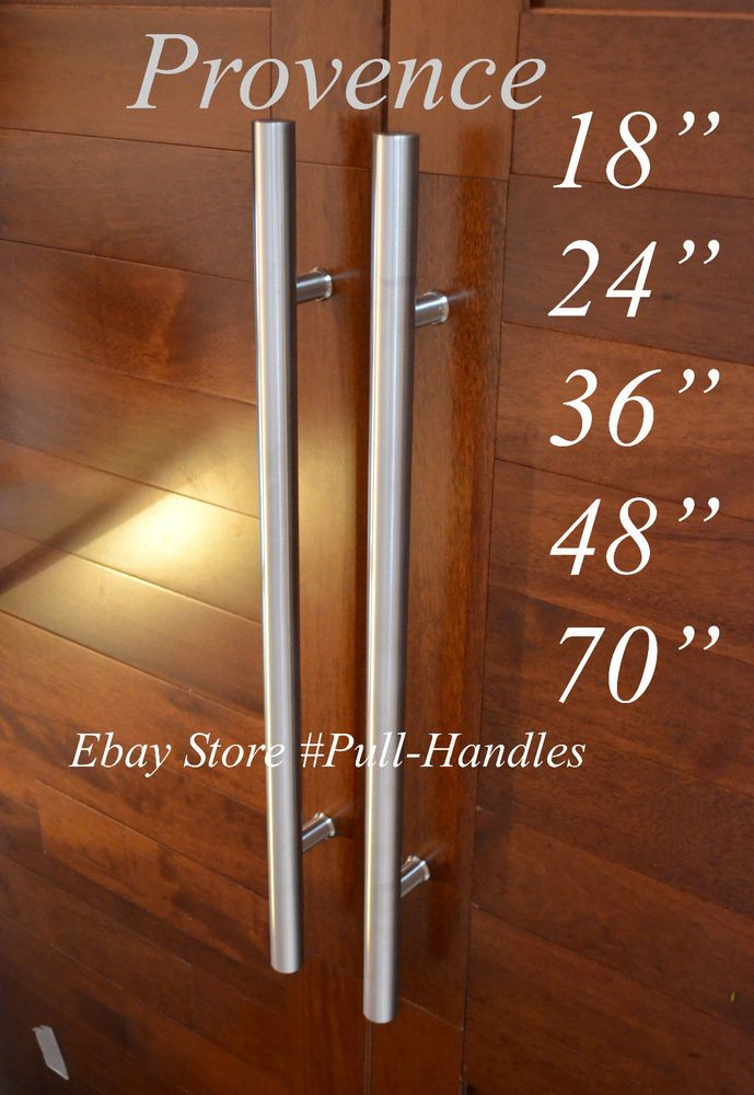 Door long Pull Pulls Entry T Bar Handle Stainless Steel 18\