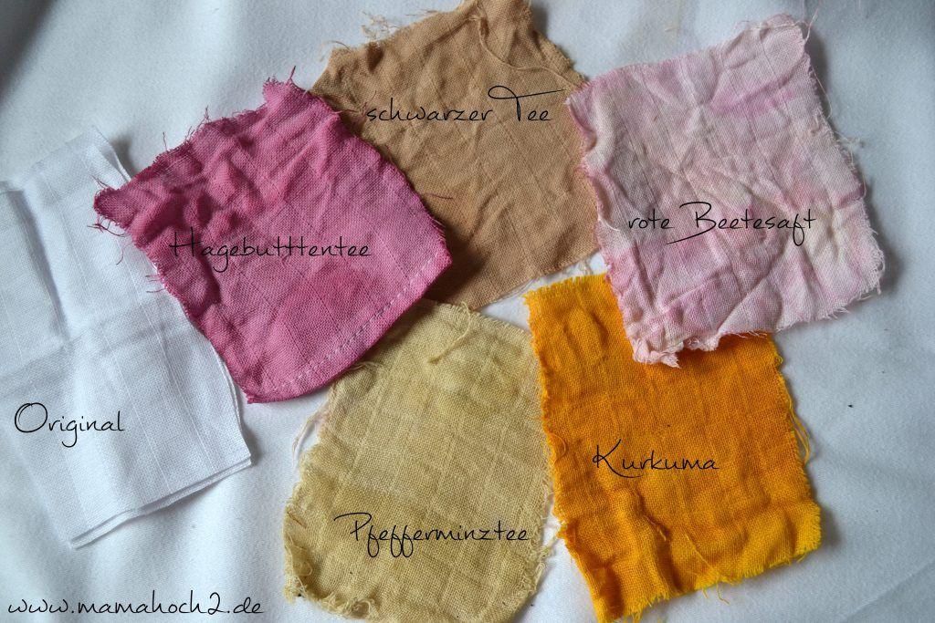 Stoff Färben Mit Lebensmitteln