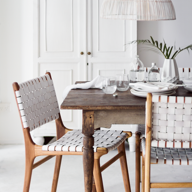 Indie Home Collective New Online Store Woven Dining Chairs Leather Dining Chairs Dining Room Chairs