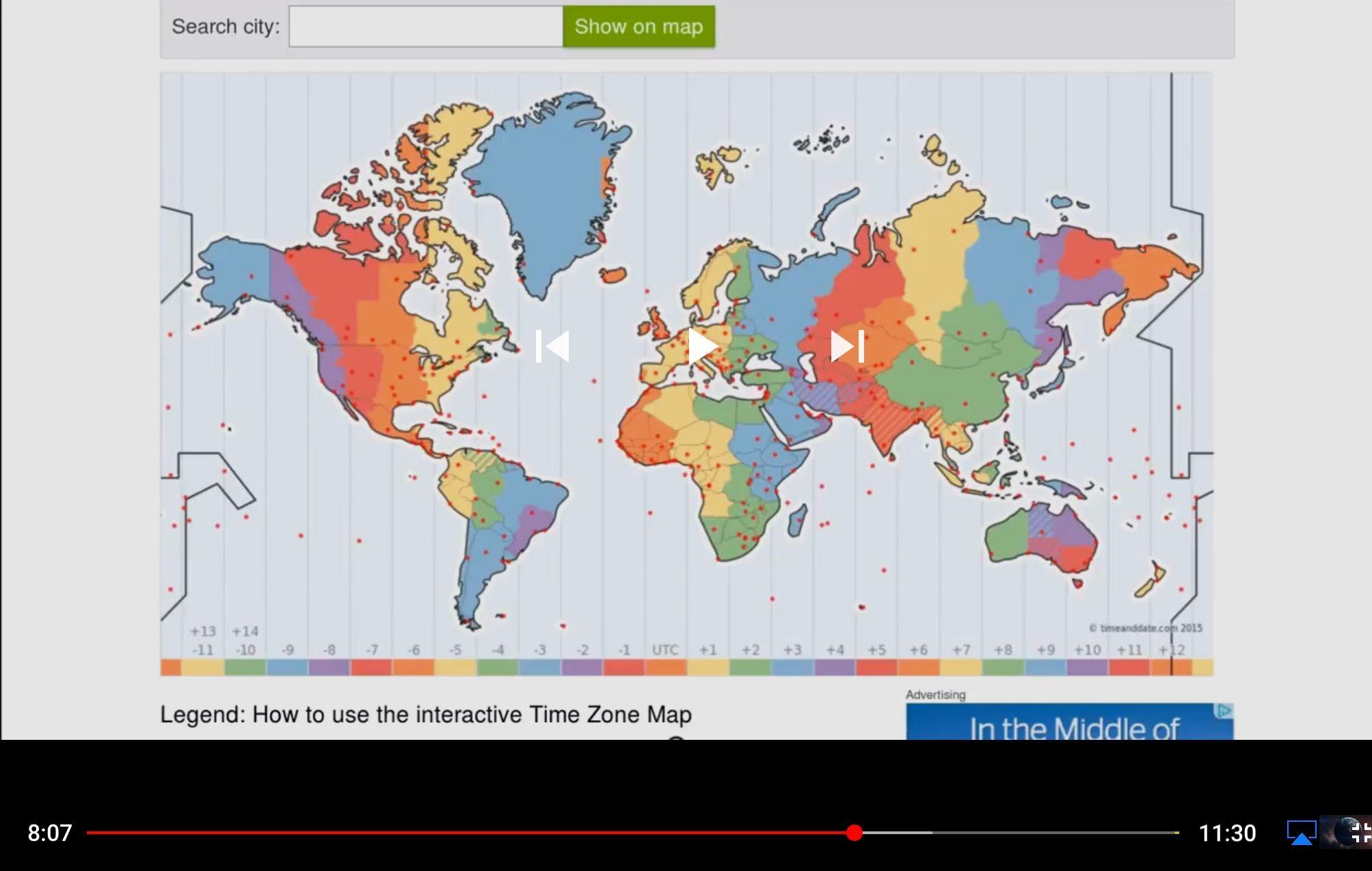 Globe earth timezones make no sense against the gleasons flat earth globe earth timezones make no sense against the gleasons flat earth map gumiabroncs Gallery