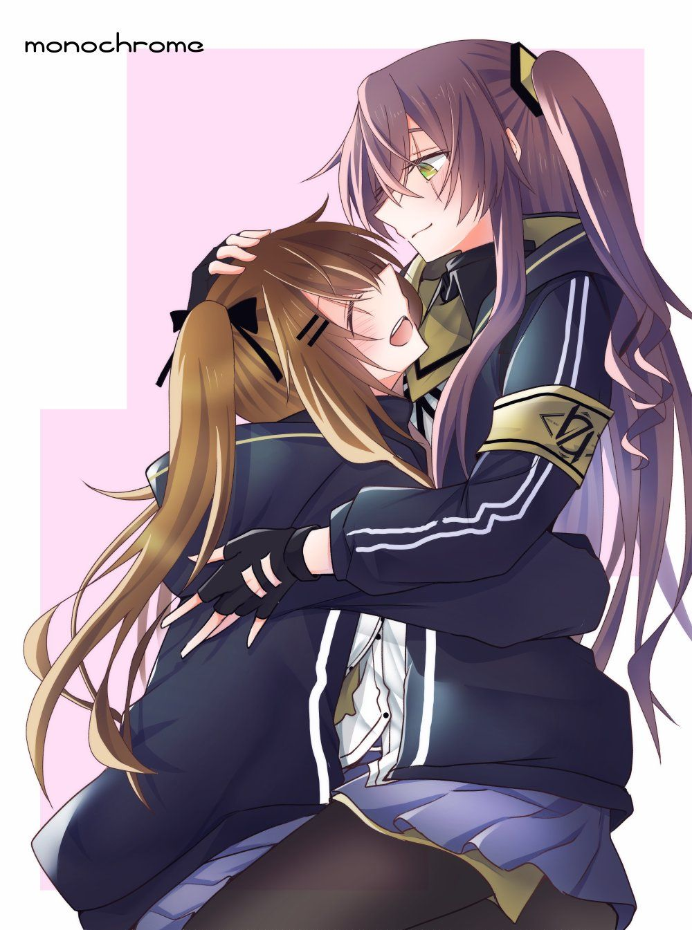 UMP 9 and 45 hugging [Girls Frontline] Sauce https