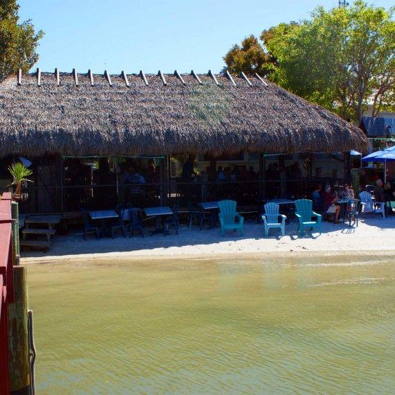 MustDo.com | Capri Fish House waterfront Chickee Hut Bar/Restaurant Isles of Capri
