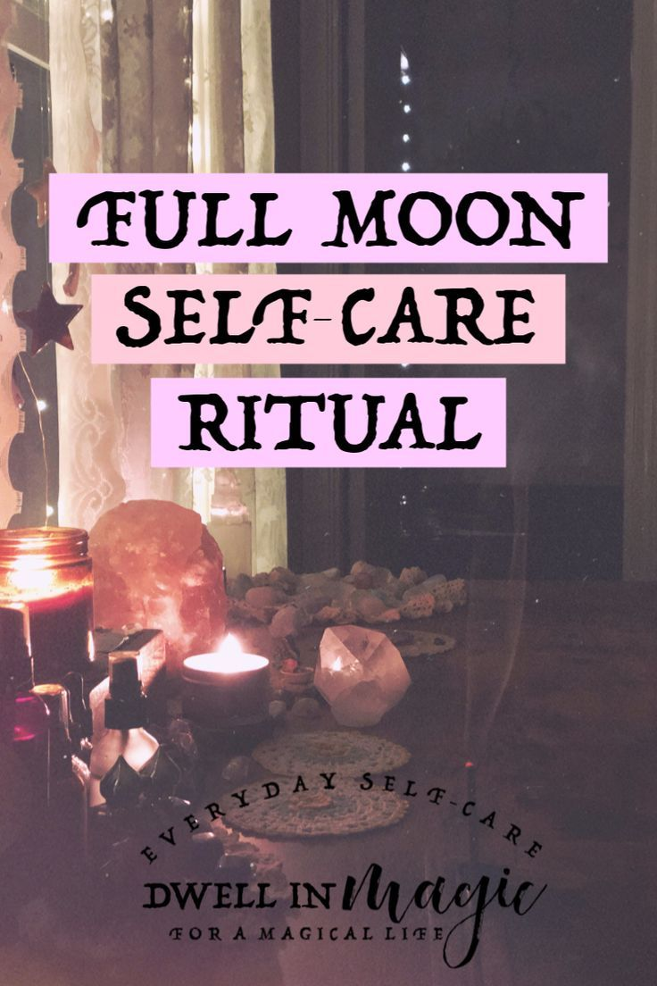 A Full Moon Ritual for Releasing & Celebration