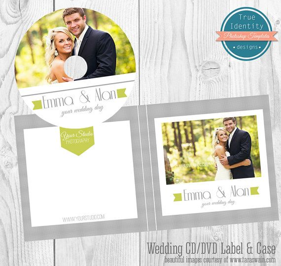 Wedding cddvd label and cover template for photographers wedding cddvd label and cover template for photographers personal use pronofoot35fo Choice Image
