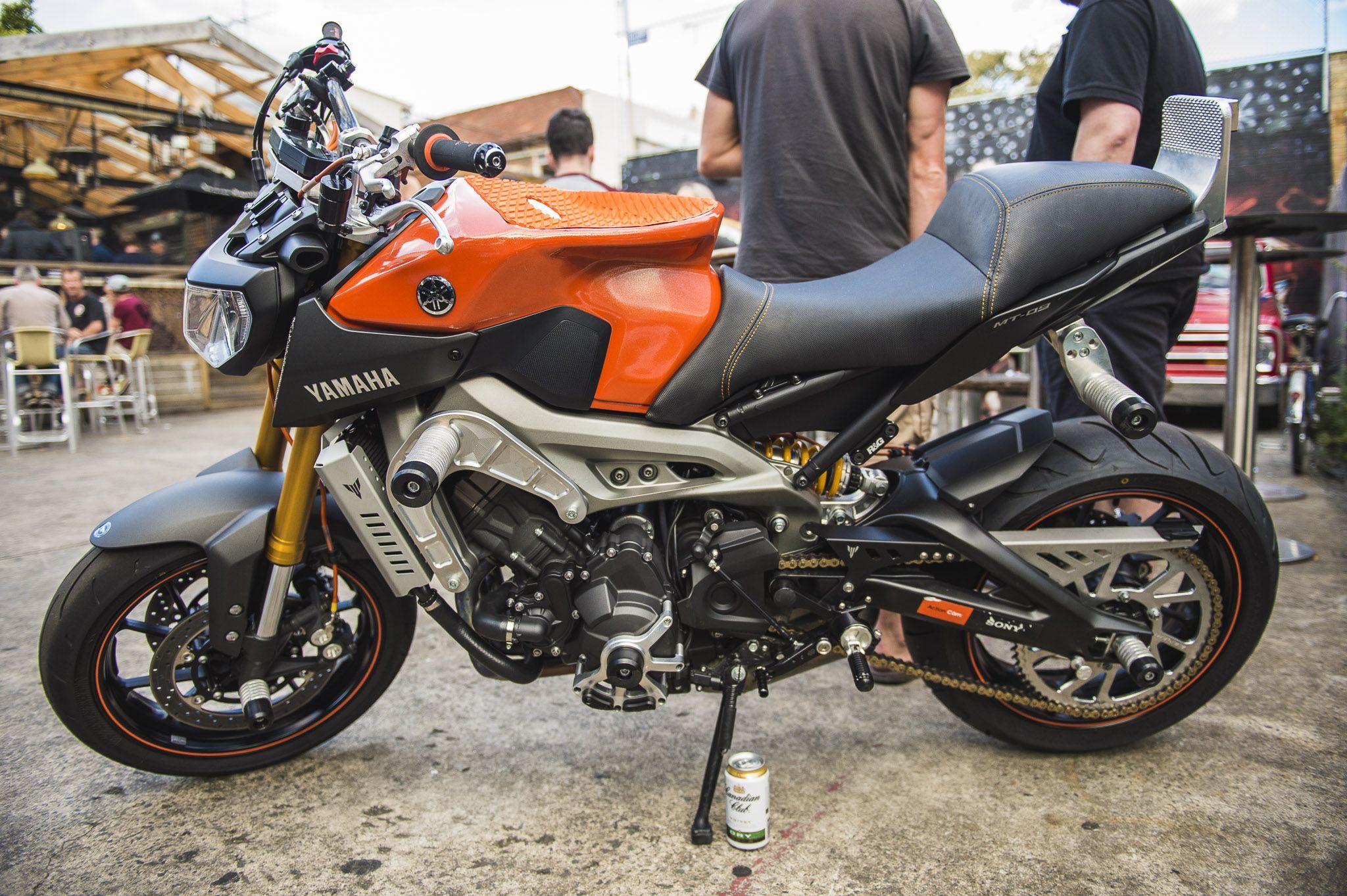 Dave Mckenna's stunt bike