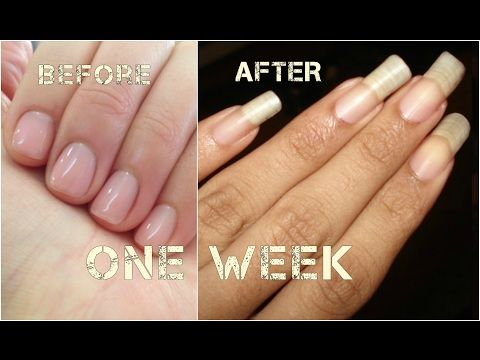 Going From Short Nails To Long Natural Nails 3 Month Nail Growth | 4 ...
