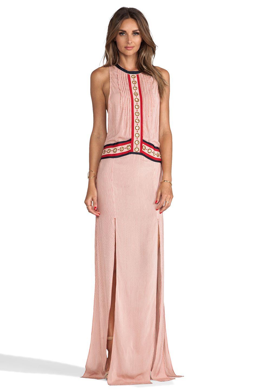 Sass Bide The Charmer Dress In Red Stripe Revolve Fashion