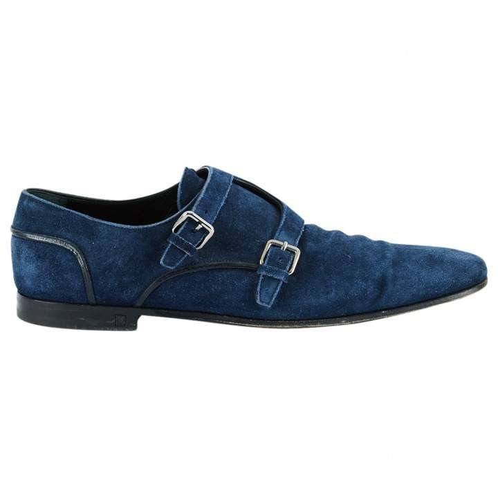 louis vuitton dress shoes blue