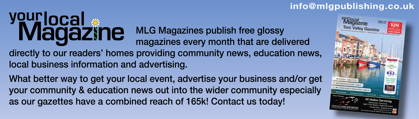 Local magazine MLG Gazette #andover #media #publication