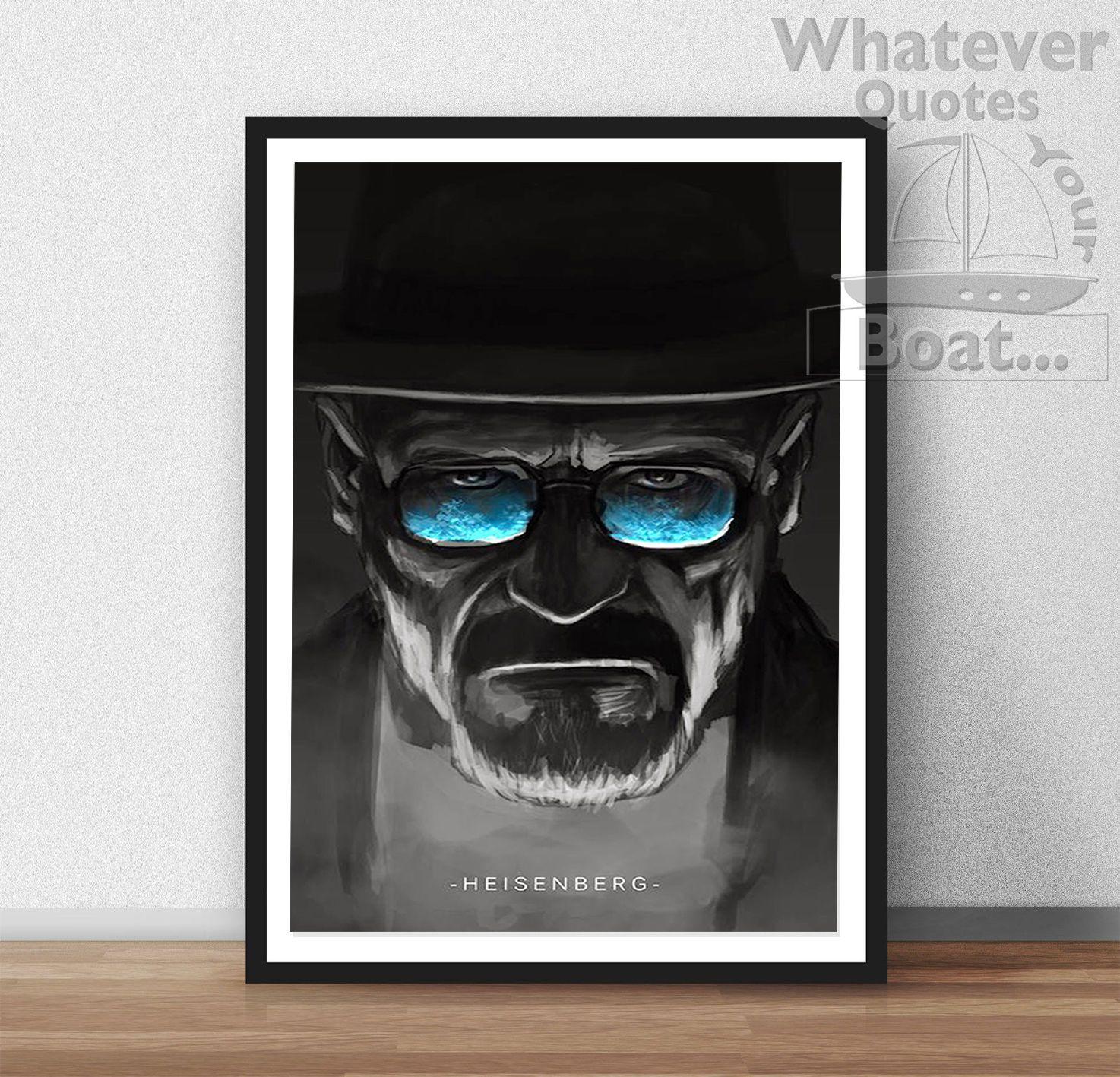 Breaking bad heisenberg walter white poster print wall art breaking bad heisenberg walter white poster print wall art frame view jeuxipadfo Choice Image
