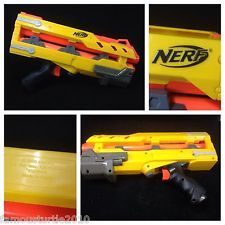 NERF N-STRIKE Yellow LONGSHOT CS-6 Front Gun Barrel Extension