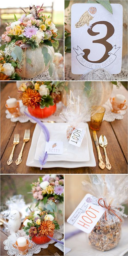 Classy Owl Wedding And I Love The Stationary Wedding Style