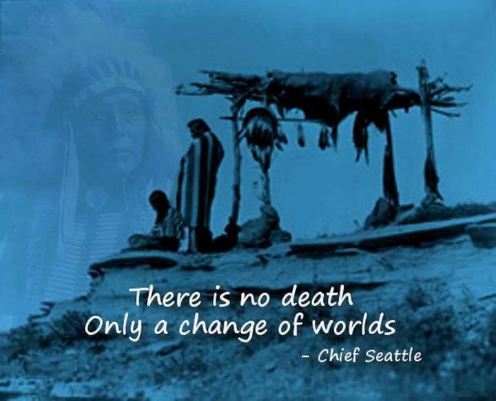 There is no death ....