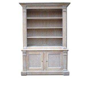 Biblioth que c rus e meuble et id es d co bookcase home decor et sweet home - Ceruser un meuble en bois ...