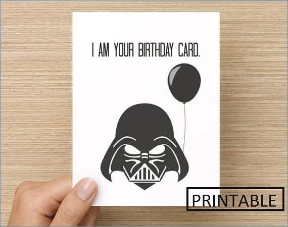 Star Wars Birthday Card Baskanai Directions Free