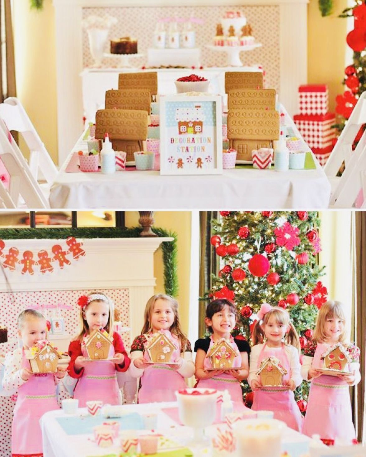 Lyfetymes Your Holiday Party Helper Plan Your Party In Seconds With Your All In 2020 Christmas Birthday Party Gingerbread House Parties Gingerbread House Decorations