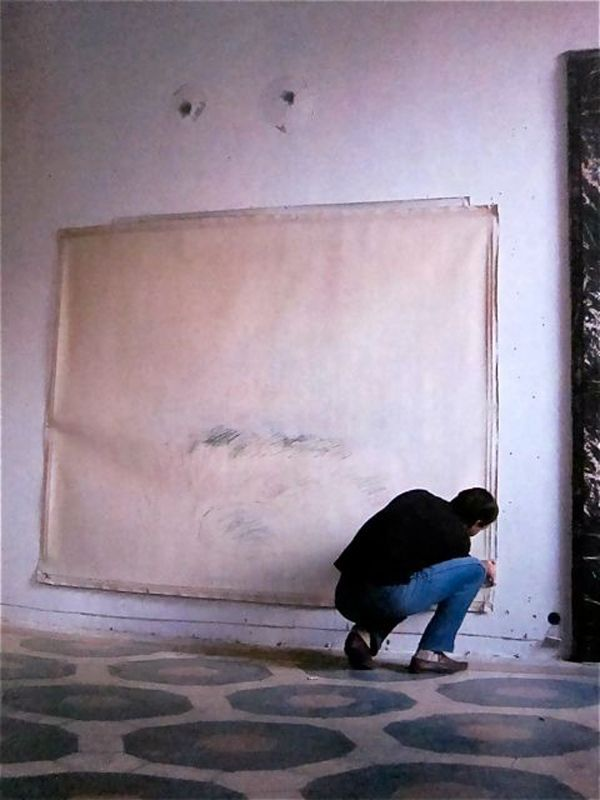 """Cy Twombly """"I work in waves, because I'm impatient."""""""