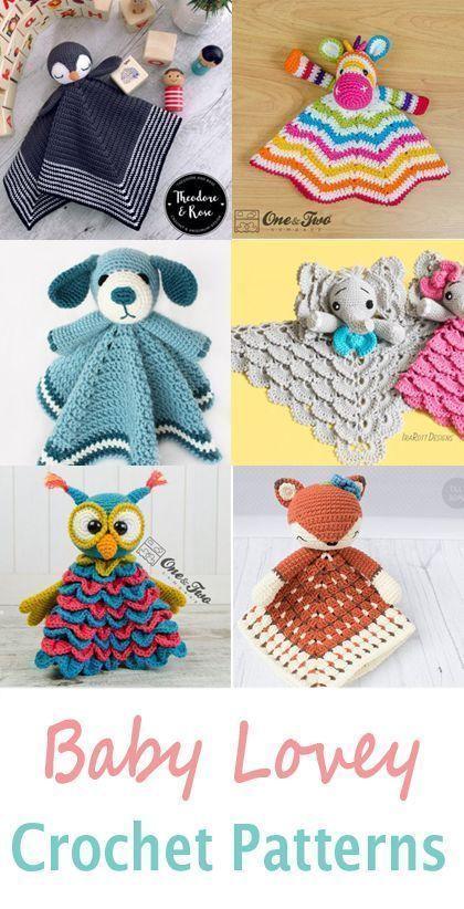 crochet bébé lovey – modèle crochet bébé pdf – amigurumi amorecraftylife